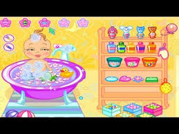 Baby Bathing Games for little kids to play online Now   Baby Bath ...