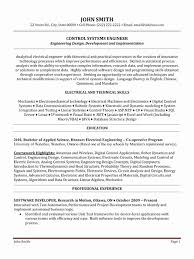 Resume For Software Engineer Beautiful Software Engineer Resume