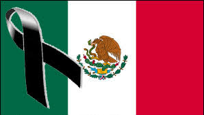 Image result for bandera mexico sismo
