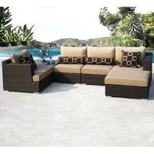 2500 Costco  Niko 8piece Patio Deep Seating Modular Sectional Niko Outdoor Furniture