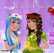 elements princess quiz free game for s
