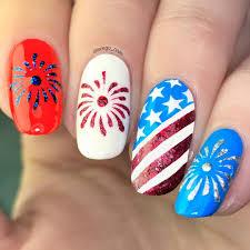 american flag vinyl stencils nail art