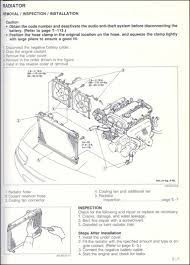 cooling system problems figure 6 radiator removal