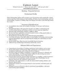 Personal Banker Resume Sample New Personal Banker Resume