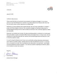 Personal Recomendation Letter Amazing Recommendation Letter From Sonia Robanus