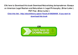naturalizing jurisprudence essays on american legal realism   5