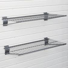 garage wall shelving garage shelving