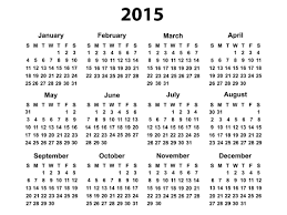 Simple 2015 Calendar Simple 2015 Calendar Under Fontanacountryinn Com