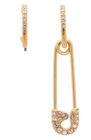 Женские золотые <b>серьги so</b> cool pin <b>SWAROVSKI</b> — купить за ...