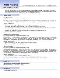 medical sales resume