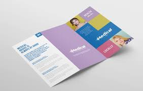Modern Medical Tri Fold Brochure Template In Psd Ai