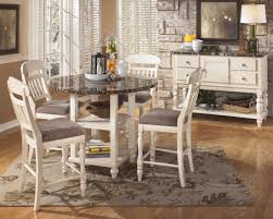 Pub Height Kitchen Table Sets Photo Round Counter Height Dining Table Set Images