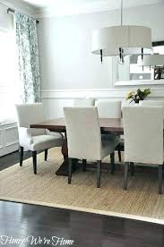 full size of round area rug for dining room sisal seagrass not rugs endearing decor furniture