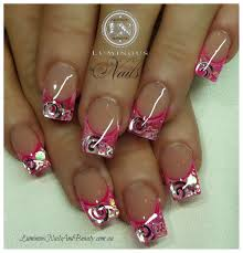 hot pink nail designs | +Nails+And+Beauty,++Gold+Coast+Queensland ...