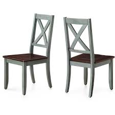 image better homes and gardens maddox crossing dining chair blue set of 2