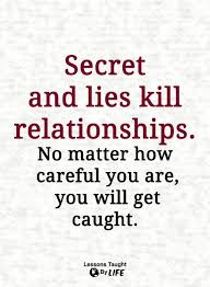 Relationship Quotes Secret And Lies Kill Relationships No Matter Awesome Download Slam Quotes About Truth