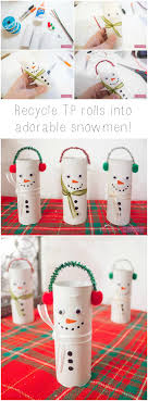 Christmas Kids Crafts Christmas Crafts For Kids 30 Favorites Toilet Paper Roll