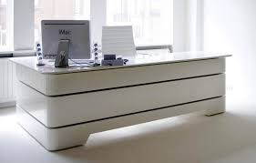 white office desk with drawers. Modern White Office Desk With Drawers F