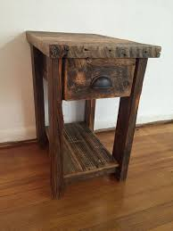 rustic end tables. Antique Wood End Tables Chic Tall Narrow Table Best 20 Small Ideas On Rustic