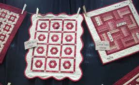 Cottons 'n Wool: Red Button Quilt Co at Spring Market & And more tiny red and white quilts. I'm getting tired of making big quilts,  so these little ones were right up my alley. Adamdwight.com