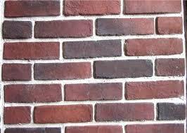 anti water outdoor fake brick wall covering painting exterior veneer faux backsplash