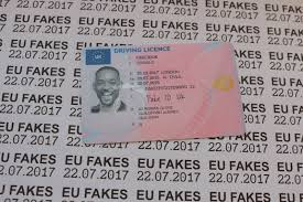 Cards Fakes Driving Identity Fake Eu - License