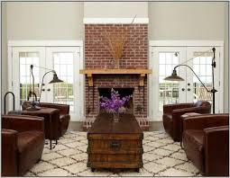 living room with brick fireplace paint colors red brick fireplace living room color