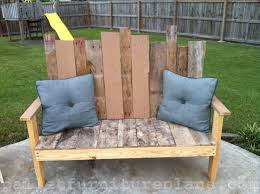 pallet outdoor bench diy. 15 DIY Outdoor Pallet Bench Furniture Plans Diy E