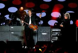 b n clark invision appaul mccartneypaul mccartney makes a stop at prudential center in newark n j sept 11