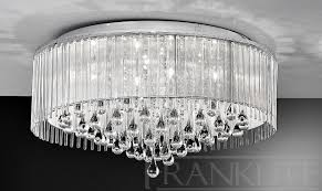 spirit large flush ceiling light franklite lighting