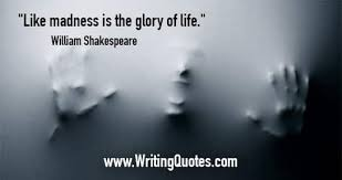 Shakespeare Quotes Classy William Shakespeare Quotes Madness Life