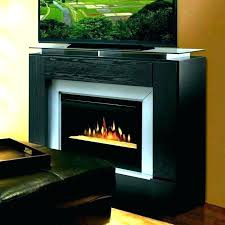 electric fireplace media stand media fireplace console