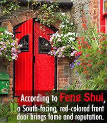 feng shui front doorAuspicious Feng Shui Colors for Your Front Door