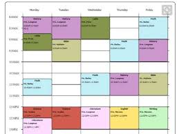 schedule creater college schedule generator templates franklinfire co