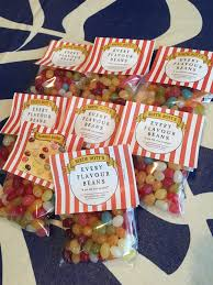 Harry Potter Jelly Bean Flavors Chart Free Downloadable Label For Bertie Botts Jelly Beans Using