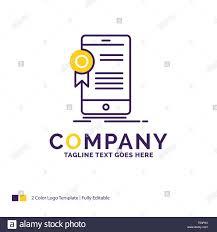 Name Art Design App Company Name Logo Design For Certificate Certification App