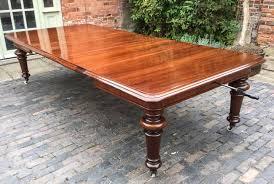 Victorian Mahogany Large Extending Dining Table Seats 14   Victorian  Mahogany L / LA118910 | LoveAntiques.com