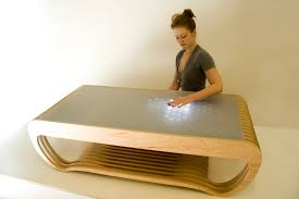 coffee table table design and fabrication led end tables interactive coffee table amazing modern