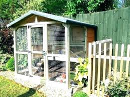 outdoor bunny hutch rabbit run cages a typical outdoors with plans h diy cage enclosures wooden