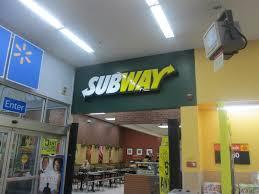 walmart supercenter subway.  Supercenter Subway In Walmart  By Random Retail On Supercenter W