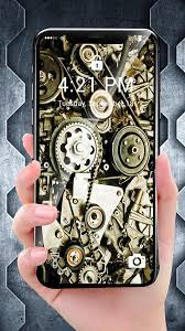 Mechanical Gear APUS Live Wallpaper APK ...