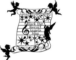 hark the herald angels sing clipart.  Sing Hark The Herald Angels Sing SVG Digital Instant Download For Papercard And  Vinyl Cutting Machines Intended The Sing Clipart H