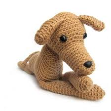 Crochet Dog Pattern Enchanting Crochet Dog Patterns Available Shiny Happy World