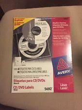 Ave 5692 Avery Laser White Matte Cd Dvd Labels Ave5692 Ebay