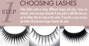 Fake Eyelash Size Chart All About False Lashes The Untrendy Girl A Beauty Guide