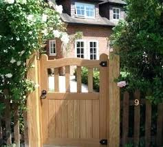 image result for wooden gates lowes