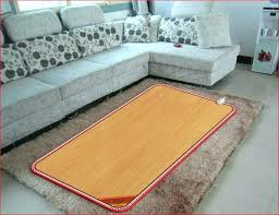 under rug heating mat heated floor rug floor heated mat electric radiant floor heating cost per