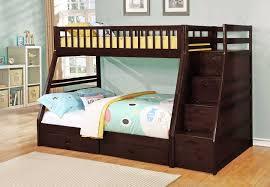 Espresso Twin Full Bunk Bed