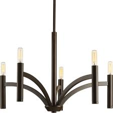 progress lighting p4718 20 dr chandelier antique bronze