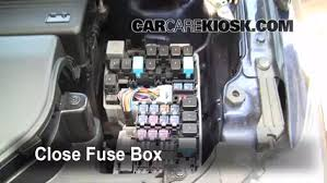 replace a fuse 2006 2010 mazda 5 2009 mazda 5 sport 2 3l 4 cyl 6 replace cover secure the cover and test component